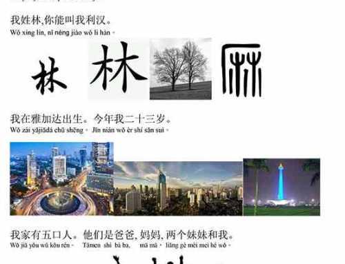 Keluarga Dalam Mandarin