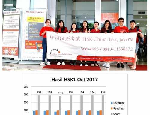 Lulusan HSK1 BMC Oktober 2017